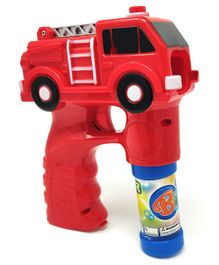 Zest 4 Toys Fire Truck Bubble Shooter Gun With Sirens And Music - Red