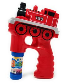 Zest 4 Toys Steam Engine Bubble Shooter Gun With Sirens And Music - Red