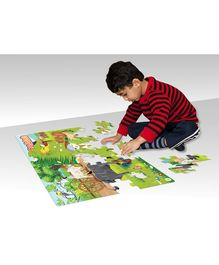 Zigyasaw Farm Kingdom Premium Giant Jigsaw Floor Puzzle Multicolour - 54 Pieces