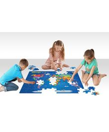 Zigyasaw Wonderful World Premium Giant Floor Puzzle Multicolour - 54 Pieces