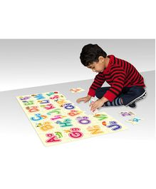 Zigyasaw Alphabets Premium Giant Floor Puzzle Multicoloue - 26 Pieces