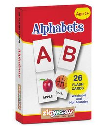 Zigyasaw Alphabets Flash Cards - Pack of 26