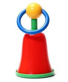 Rikang Bell Shaped Rattle Toy - Red