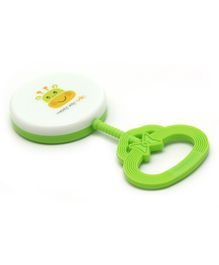Rikang Baby Rattle  - Green White