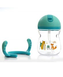 Rikang Straw Trainer Sippy Cup (Colour May Vary) - 320 ml