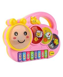 Emob Caterpillar Shaped Piano Musical Learning Toy With Lights (Color May vary