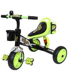 Bumble Bee Tricycle With Suspension - Green