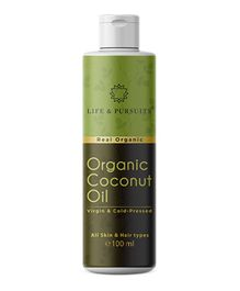 Life & Pursuits Organic Virgin Coconut Oil - 100 ml