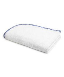 The Baby Atelier Organic Junior Towel - White