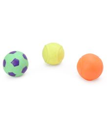 Kreative Kids Bath Toys Ball Pack of 3 - Multicolour