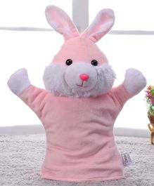 Benny & Bunny Rabbit Hand Puppet Pink - 28 cm