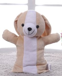 Benny & Bunny Dog Hand Puppet Light Brown - 28 cm