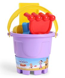 Chhota Bheem Beach Toy Set Pack of 5 - Purple