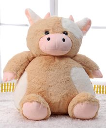 Benny & Bunny Cow Plum Series Soft Toy Light Brown - Height 33 cm