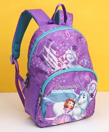 Sofia the First Kids Bag Purple - 12 Inches
