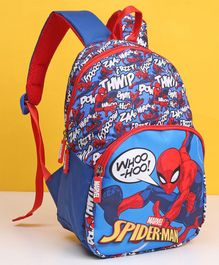 Marvel Spider Man Kids Bag Blue Red - 12 Inches