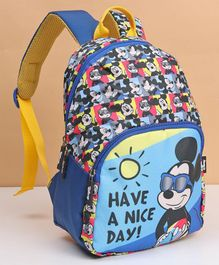 Disney Mickey Mouse And Friends Kids Bag Blue - 12