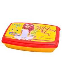 Milton Lunch Box With Small Container Yellow - 900 ml