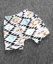Little Palz Abstract Print Shorts - Multi Color