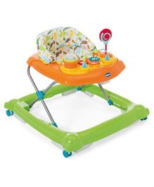 Chicco Baby Walker With Play Tray - Green