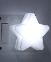 LED Night Lamp Star Shape - White