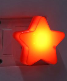 LED Night Lamp Star Shape -Red