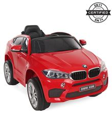 Battery Operated BMW X6M Ride On Car - Red