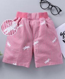 Jash Kids Printed Shorts - Pink