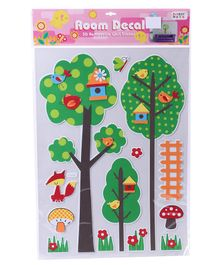 Nature Themed Wall Stickers - Multicolor