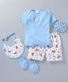 Montaly Clothing  Gift Set Blue - 5 Pieces