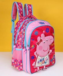Peppa Pig School Bag Pink - Height 16 inches