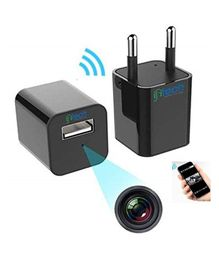 IFITech 1080P HD USB WiFi Hidden Charger Camera - Black