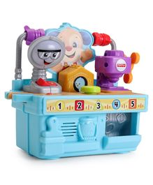 Fisher Price Busy Learning Tool Bench - Blue