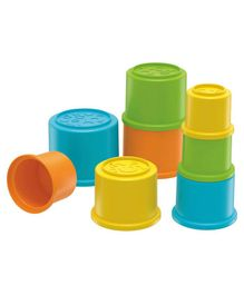 Fisher Price Stacking Cups Multicolour - Pack of 8
