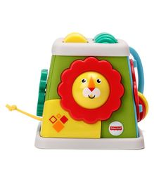 Fisher Price Take & Turn Activity Cube Toy - Multicolour