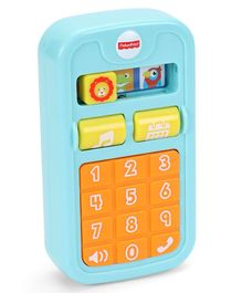 Fisher Price Battery Operated Toy Mobile Phone - Blue