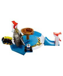 Hot Wheels Mega Shark Face Off Game - Multicolor