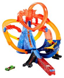 Hot Wheels Volcano Escape Track Set - Multicolor