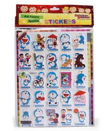 Sticker Bazaar Doraemon A4 Foam Sticker Set (Design May Vary)