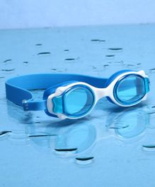 Yellowbee Anti-Fog Swimming Goggles - Blue