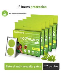 Bodyguard Natural Anti Mosquito Repellent Patches - 100 Patches