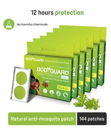 Bodyguard Natural Anti Mosquito Repellent Patches - 120 Patches