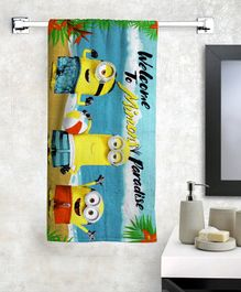 Athom Trendz Minions Bath Towel - Multicolor