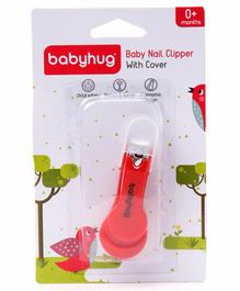 Babyhug Nail Clipper - Red