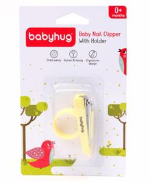 Babyhug Nail Clipper - Yellow