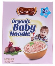 Golden Organic Baby Noodle Beetroot - 200 gm