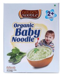 Golden Organic Baby Noodle Spinach - 200 gm