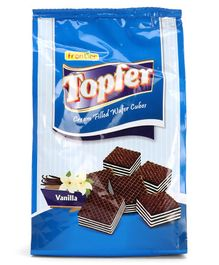 Topfer Vanilla Filled  Wafer Cubes - 180 gm
