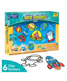 Imagi Make Window Space Adventure Sticker - Multicolour