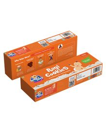 Bebe Burp Organic Baby Food Whole Wheat Cookies - 100 gm